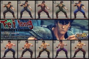 Feilong - Kenshiro costume 10color by dsFOREST