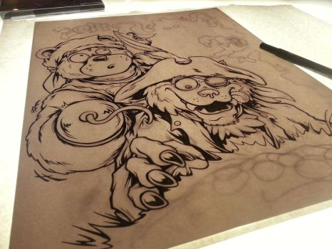 Cub Scout T-Shirt Design WIP by MonsterInk