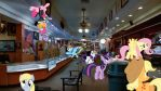 Ponies Visit The Gold And Silver Pawn Shop by Mr-Kennedy92