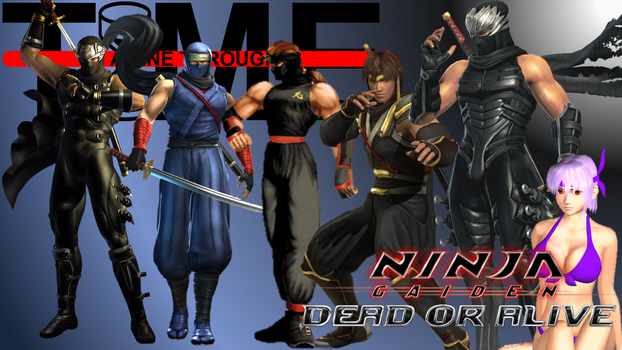 Ninja Gaiden / Dead or Alive - A Line Through Time by The4thSnake