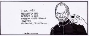 RIP Steve Jobs by RABBI-TOM