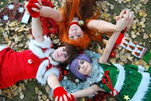 Merry Xmas From The SOS Brigade! by SerahCrystal