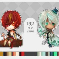 Collab - RIP Adoptables - CLOSED by Nyanfood