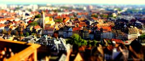Little Big Town - Strasbourg Tiny Colorful Houses by Cloudwhisperer67