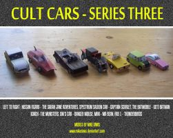 Cult Cars - Series Three by mikedaws