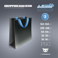 Shopping bag icon - WD1 by LazyCrazy