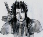 Zack Final Fantasy VII: CRISIS CORE by blueskyhigh