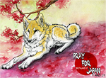 .:Pray For Japan:. by WhiteSpiritWolf
