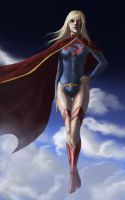 supergirl by alecyl