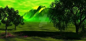Bryce Landscape - Green Impact by Jassy2012