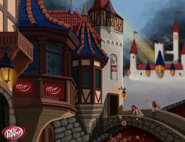 Dr Pepper Village by YanasPrecursor