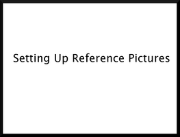 1,Arranging Reference pictures by BlenderCommunity