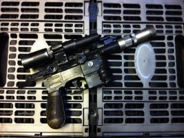 Han Solo's DL 44 by MightyMoose