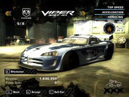 NFS Viper SRT10 Coupe by FoxTail8000