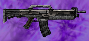 M-16 Concept - Colored by ADMIRE-GD