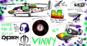 Vinny ref and bio by Minionwolf711
