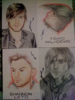 SIGNED DRAWINGS by sharmz