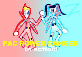 Pac Power Ranger in Action by zigaudrey