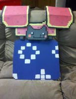 Nyan Cat Armor - Front by ShinyStrawberry