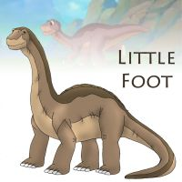 Big Little Foot by daKisha