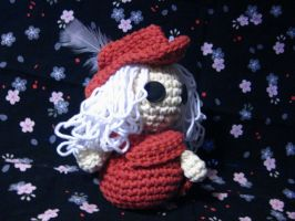 Red Mage Amigurumi by PrincessCordelia