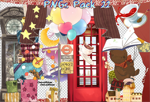 Cute PNGs Pack # 01 by Omira24Chan