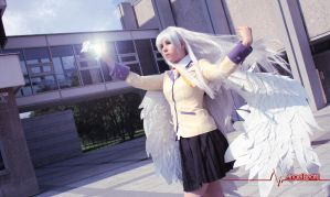 Angel Beats! Cosplay - Tachibana Kanade - School by K-I-M-I