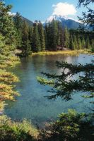 Mountain Lake Banff 003 by CitizenOlek