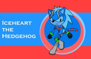 Sonic Channel Iceheart by TwisterTheHedgehog