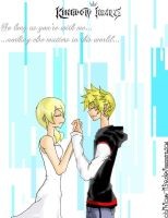 Namine and Roxas by oblivious-life