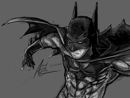 The Dark Knight by Archonyto