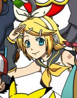 Rin Kagamine by BeardBeyond