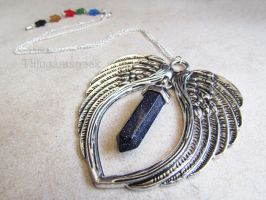 Galaxy's Guardians - GOTG Inspired Necklace by thingamajik
