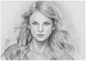 Taylor Swift 2 by AfterSchoolArts