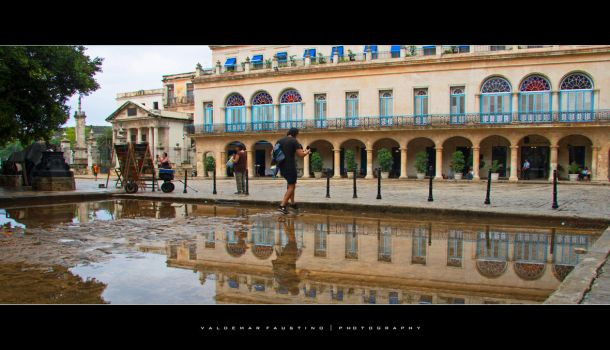 Reflections of Havana by Val-Faustino