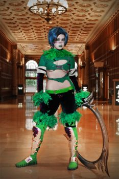Tira Cosplay: I'm gonna kill you now, you ready? by Khainsaw