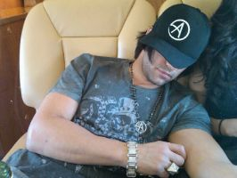 Criss Angel Sleeping by 75tennis