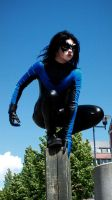 Nightwing Cosplay 2 by Ugly-desu