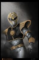 White Power Ranger by BlackPicasso1989