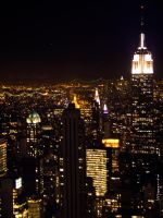 City Nights and Bright Lights by gwensaer