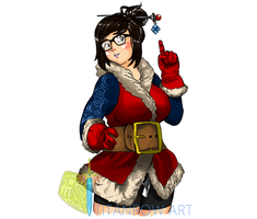 Mei's christmas! by TitanRow