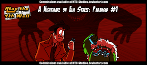 AT4W: A Nightmare on Elm Street- Paranoid #1 by MTC-Studio