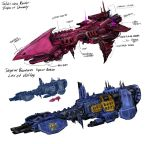 40k space ships by TD-Vice