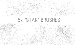 Star Brushes by PinkMai