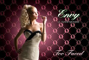 "Too Faced Cosmetics ""Envy"" by LASMN"