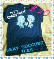 Sexy Succubi Tees by fuish