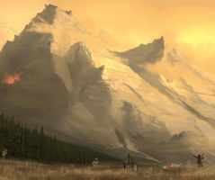 Mountain by HetNoodlot