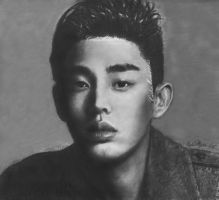Yoo Ah In by CezLeo