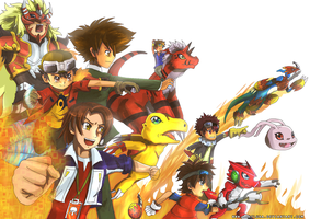 Digimon Side A by ashflura