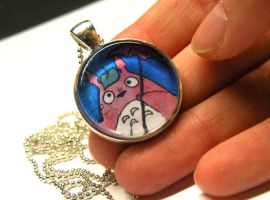 totoro pendant by michellescribbles